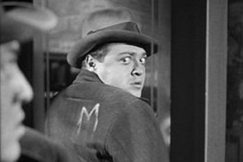 "Peter Lorre in ""M"""